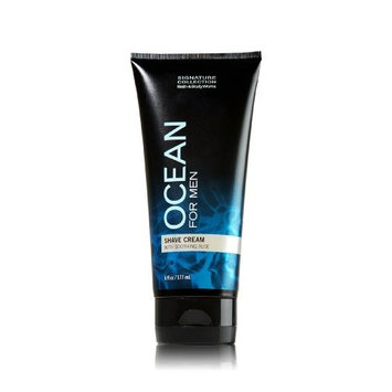 Bath and Body Works Ocean for Men Shave Cream with Soothing Aloe 6 Oz New for 2013