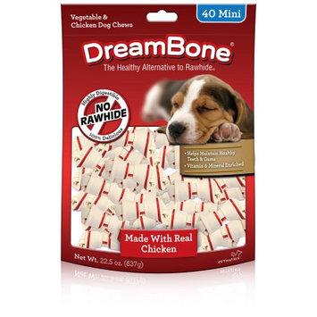 Dreambone, Chicken, Mini, 40-Pack