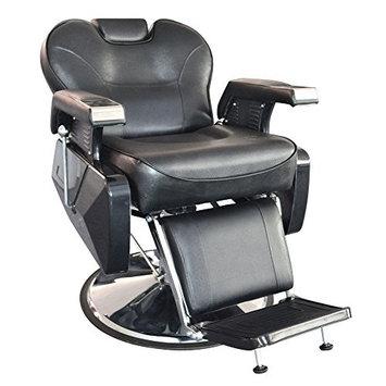 Deluxe Hydraulic Barber Chair Beauty Shop Reclining Shampoo Salon Equipment