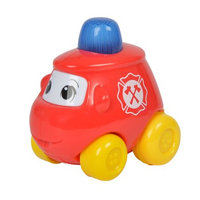Simba ABC Wind up Vehicle with Sound, Red