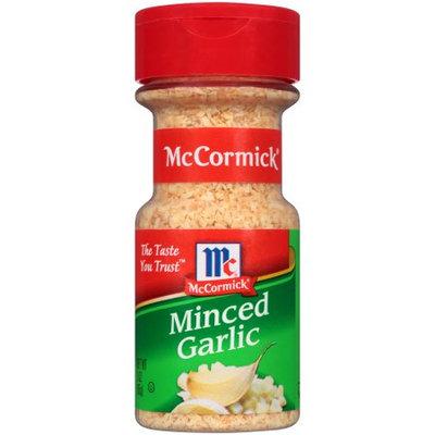 McCormick Garlic, Minced, 3 OZ (Pack of 2)