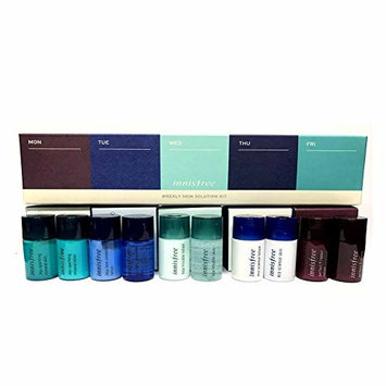 Innisfree Weekly Skin Solution Kit ( Lotion 5ml + Skin 5ml ) 5 types Set