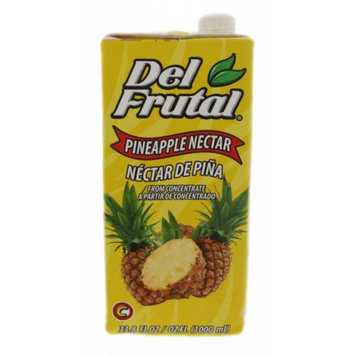 Alimentos Maravilla Del Frutal Pineapple Nectar Concentrate 1000ml - Concentrado de Jugo de Pina (Pack of 3)