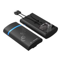 Digi Power Digipower - Portable Power Bank External Battery Charger - Black