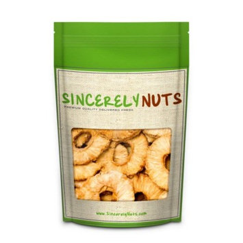Sincerely Nuts Natural Dried Pineapple, No Sugar, 5 Lb