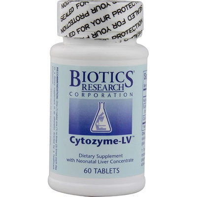 Biotics Research Cytozyme-LV 60 Tablets
