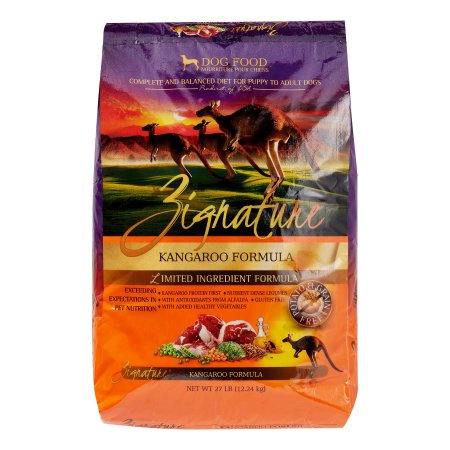 Zignature Kangaroo Limited Ingredient Formula Dry Dog Food