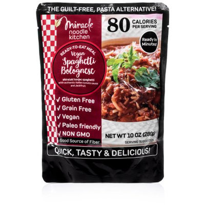 Miracle Noodle Vegan Spaghetti Bolognese, (Pack of 6)