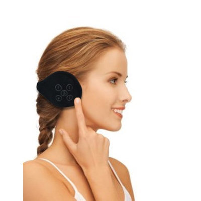 Vandue Corporation Bluetooth Wireless Headphone Fleece Earmuffs - Black
