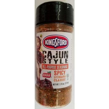Culinary Seasonings: Kingsford Cajun Style Seasoning 2.75 oz Shaker