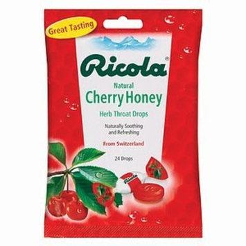 Ricola Natural Herb Cough Drops, Cherry Honey 24 ea