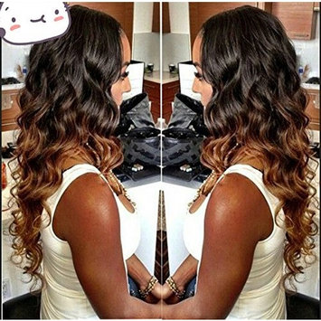 Wigsforyou Ombre Human Hair Weave 1b/33 Peruvian Virgin Hair Loose Wave 1Pcs Peruvian Loose Wave Ombre Hair Extensions Peruvian Hair Bundles