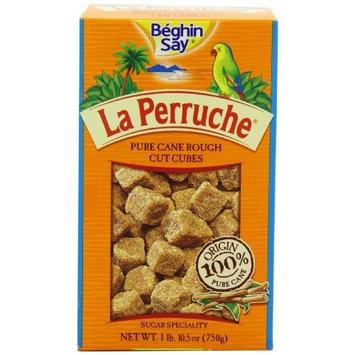 La Perruche Pure Cane Rough Cut Cubes, 1 lb.10.50z(750g)