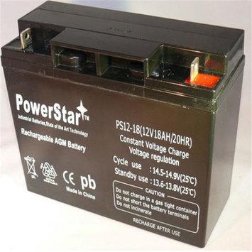PowerStar PS12-18-69 12V 18Ah Ups Battery Replaces 20Ah Bb Battery Hr22-12, Hr22