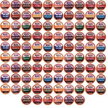 96 Count K-Cup Variety Pack 15 Distinct Beantown Roasters Coffees No Decaf for Keurig Brewers