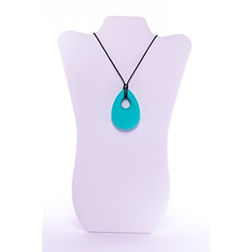 Baby Teething Pendant Necklace Jewelry for Mom to Wea, BPA Free Silicone