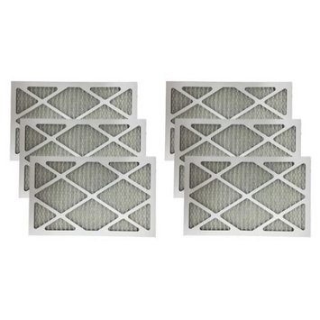 Crucial Air 6 MERV 11 Allergen Air Furnace Filters 12x24x1