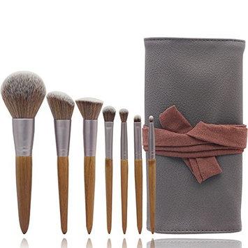 7Pcs Professional Makeup Brushes Set Powder Foundation Eyeshadow Make Up Brushes Cosmetics Soft Synthetic Hair Leather packing