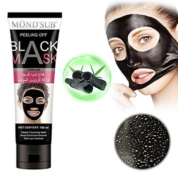Black Charcoal Peel off Mask Blackhead Remover Face Deep Purifying Pores Mask For Nose Acne