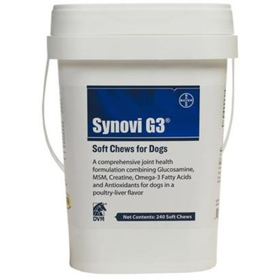 SynoviG3 SOFT CHEWS [Options : 240 Chews]