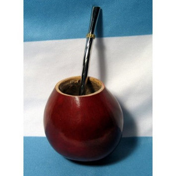 ARGENTINA MATE GOURD YERBA TEA WITH STRAW BOMBILLA 0059