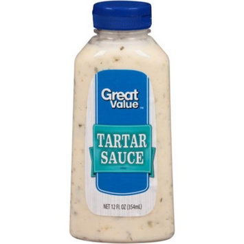 Great Value Tartar Sauce, 12 fl oz