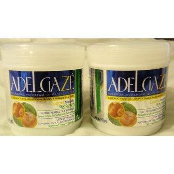 Adelgaz'e Thermoactive Massage Cream and Spa, 16 oz by Adelgze