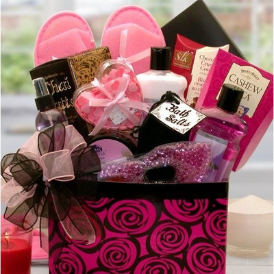 A Spa Day Getaway Bath & Body Gift Box by GiftBasketsAssociates Spa Gift