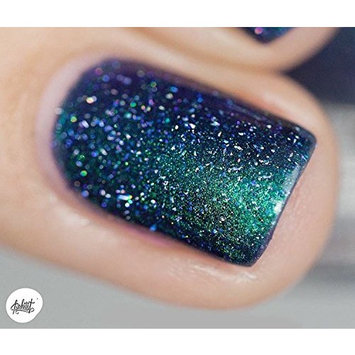ILNP Interstellar - Navy, Teal, Purple Holographic Nail Polish