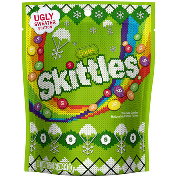 Skittles, Sour Ugly Sweater Edition Candy, 7.2 Oz