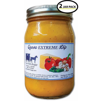 Cheese Dip 16 oz. jar - 2 count (Queso Extreme Cheese Dip)