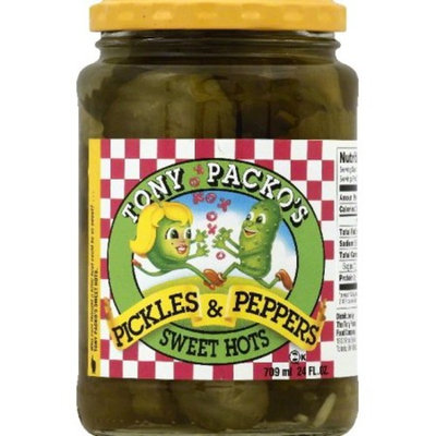 Tony Packo's Sweet Hot Pickles & Peppers
