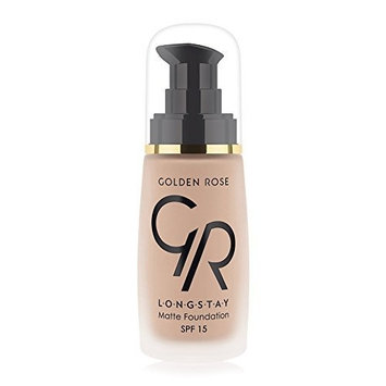 Matte Long Wear Oil Free Foundation with SPF 15 #07 - Wheat by Golden Rose