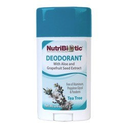 Deodorant Tea Tree Nutribiotic 2.6 oz Stick