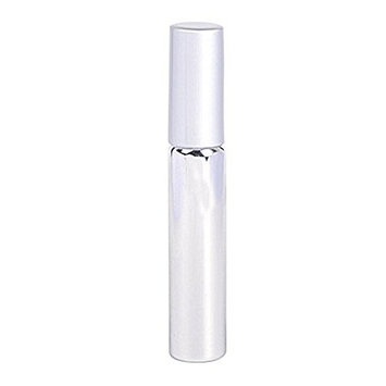 Glass Roller Bottles,Refillable Container for Essential Oils Aromatherapy Fragrance with Bottle Opener Stainless Steel Roller Balls(Silver)