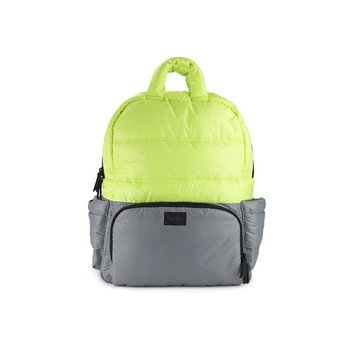 7AM Enfant BK718 Backpack, Neon Lime/Cement