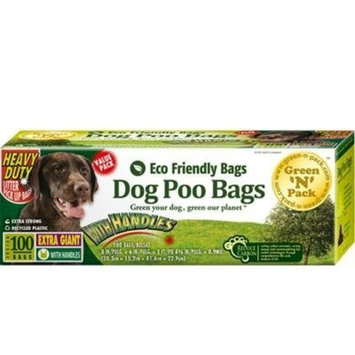 Green'N'Pack Extra Large Dog Waste Bags (Heavy Duty Solution), Premium Pick-Up Bags