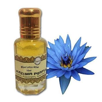 Blue Lotus Attar Perfume (10 ML) - Pure Natural Undiluted (Non-Alcoholic)