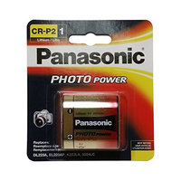 Panasonic CR-P2PA/1B Photo Power CR-P2 Lithium Battery, 1 Pack (G