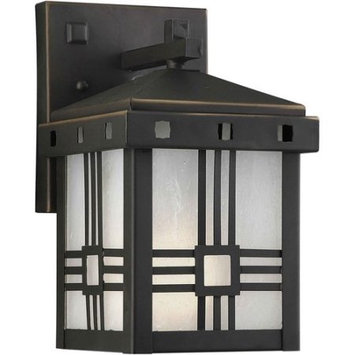 Unbranded 12-in H Royal Bronze Outdoor Wall Light ENERGY STAR LW100120114