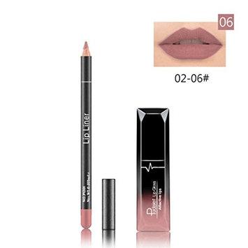 Binmer(TM) Long Lasting Lipstick Waterproof Matte Liquid Gloss Lip Liner Cosmetics Set