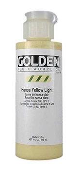 Golden - Fluid Acrylic - 4 oz. Bottle - Burnt Sienna