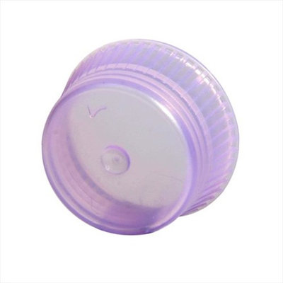 Bio Plas 6510 Uni-Flex Safety Caps for 10mm Blood Collecting Culture Tube 1000 Pk - Lavendr