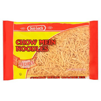 Allied Old English, Inc. Sun Luck, Noodle Chow Mein Foil Pk, 12 Oz (Pack Of 12)