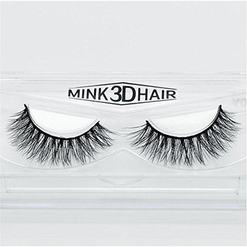 Long Thick Dramatic Look Handmade Reusable 3D Mink False Eyelashes For Makeup 1 Pairs Pack A15
