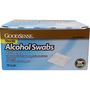 Good Sense Alcohol Swab, 100 Count - Case of 20