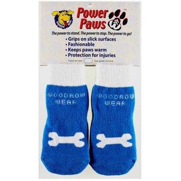 Woodrow Wear Power Paws Advanced Extra Extra Small Blue/Bone