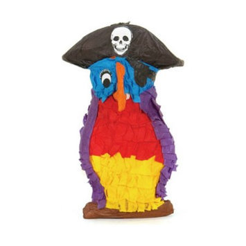 Fetch-It Pets Polly Wanna Pinatas Pirate Parrot Bird Toy