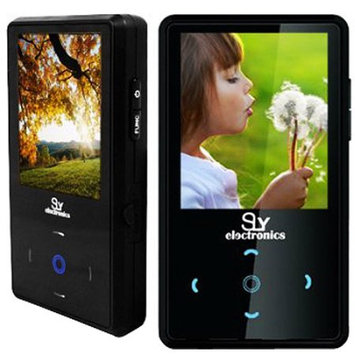 Sly Electronics SLV20 4GB Flash Portable Media Player - Audio Player, Video Player, Photo Viewer, FM Tuner, FM Recorder, Voice Recorder - 2
