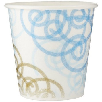 Dixie PerfecTouch 5310WM Insulated Paper Hot or Cold Cup, Whimsy Design, 10 oz (Case of 20 Sleeves, 50 cups per sleeve)